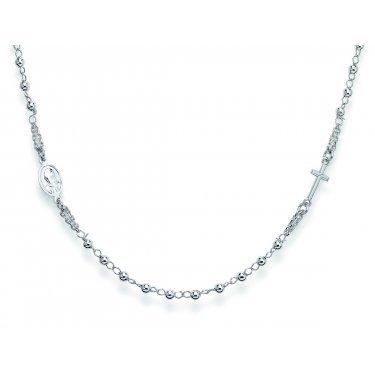 Amen collar de plata