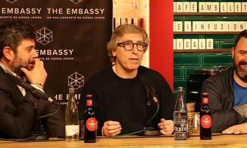 The Embassy Talks dona el tret de sortida amb el cineasta i escriptor David Trueba