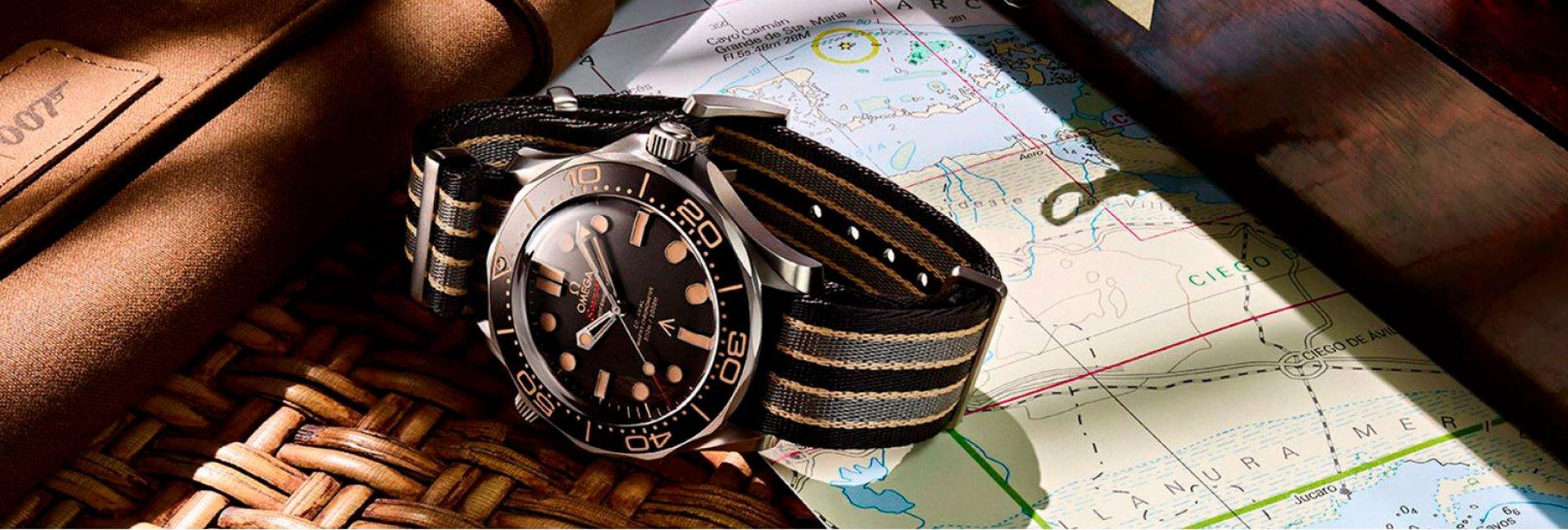 omega seamaster diver 300m co‑axial master chronometer 42 mm edición 007
